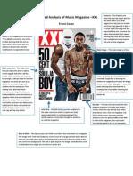 Task 2 Detailed Analysis of Music Magazine XXL