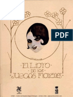 El Libro de Los Juegos Florales