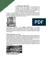 HISTORIA DE LA COMPUTACIÓN