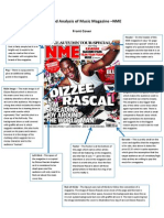 Task 1 Detailed Analysis of Music Magazine Dizzy Rascal