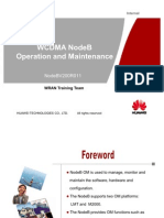 77442954 WCDMA NodeBV211 Operation and Manitenance 20100208 B V1 0