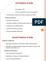 Social Problems social problems of India