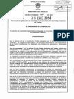 Decreto 089 Del 20 de Enero de 2014