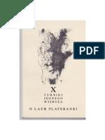 X Turniej Jednego Wiersza o Laur Plateranki. Tomik finałowy (PDF)