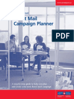 Direct Mail Campaign Planner