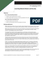 CCNASv1.1 Chp01 Lab a Rsrch Net Attack