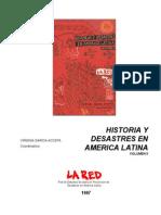 Crisis agricolas y crisis biológicas en S.M. de Tucuman segunda mitad del siglo XVIII. C.Lopez Albornoz