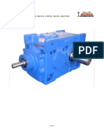 Agnee Helical Bevel Gear Box Dimensional Details