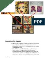 Evaluating My Digipak and Advert