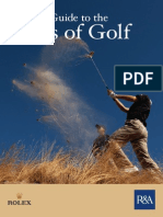 Quick Guide to the Rules of Golf