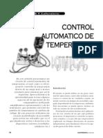 Control Automatico de Temperatura