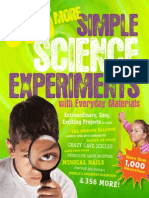 365 MORE SIMPLE SCIENCE EXPERIMENTS WITH EVERYDAY MATERIALS by E. Richard Churchill, Louis V. Loeschnig, and Muriel Mandell with illustrations by Frances W. Zweifel