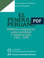 Gonzales de Olarte - El Pendulo Peruano