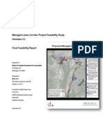 Managed Lanes Corridor Project Feasibility Study