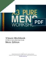 Mens X3Pure