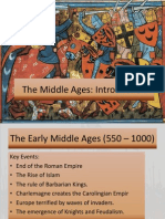 introduction of the middle ages