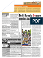 thesun 2009-10-14 page08 north korea to fire more missiles ahead of talks
