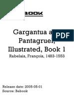 Rabelais Frana Ois 1483 1553 Gargantua and Pant a Gruel Illustrated Book 1