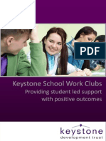 Keystone School Work Club Prospectus