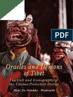 88509615 Rene de Nebesky Wojkowitz Oracles and Demons of Tibet
