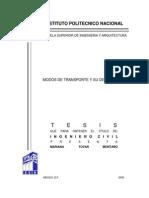 1. Modos de Transporte y Su Desarrollo