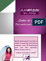 Alain Afflelou Lentes Mitos