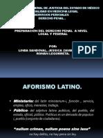 Preparacion Del Derecho Penal a Nivel Local y Federal (1)