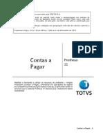 Contas a Pagar p11 v1.31