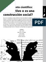 conocimiento científico-construcción social