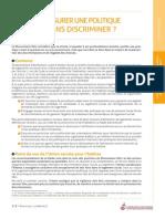 Comment assurer une politique de mixité sans discriminer-31.08.13