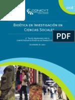 Bioetica en Investigacion en Ciencias Sociales