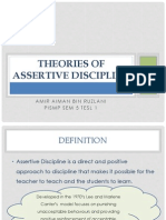 Theories of Assertive Discipline