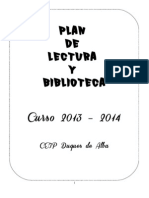 Plan Lector y Biblioteca 2013 Ok