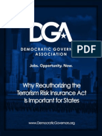 Why Reauthorizing the Terrorism Risk Insurance Act is Important for States