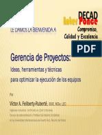 1. Gerencia de Proyectos - InTER PONCE