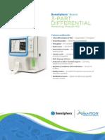 9103 E Flyer Diagnostic Hematology BeneSphera 3Part Diff H32 14vs1 E