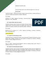 Guía para citar y ordenar referencias usando APA