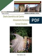 Diseño Geometrico - Alineamiento Horizontal