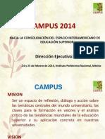 Presentación CAMPUS - México 2014