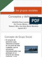 Teoría de los grupos sociales