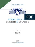 asian pacific mathematics olympiads-1989-2009