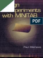 Design of Experiments With MINITAB Escrito Por Paul G. Mathews