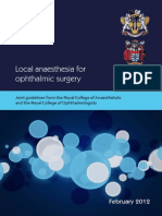 2012-SCI-247 Local Anaesthesia in Ophthalmic Surgery 2012 1