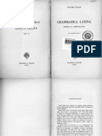 Pisani, Vittore, Grammatica Latina