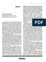 Ciencia y Feminismo (Sandra Harding_review)