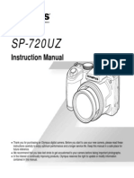Olympus SP-720UZ Instruction Manual