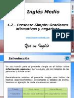 1.2 - Presente Simple Oraciones afirmativas y negativas.pptx