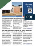 Mar Apr 2014 Newsletter