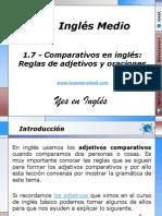 1.7 - Comparativos en inglés Reglas de adjetivos y oraciones.pptx