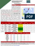 Boletín Meteorológico 201403061, 10:30 hrs. | Cenecam